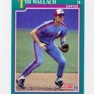1991 Score Baseball #210 Tim Wallach - Montreal Expos