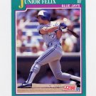 1991 Score Baseball #203 Junior Felix - Toronto Blue Jays
