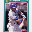 1991 Score Baseball #196 Hubie Brooks - Los Angeles Dodgers