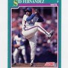 1991 Score Baseball #180 Sid Fernandez - New York Mets
