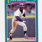 1991 Score Baseball #157 Lance Johnson - Chicago White Sox