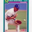 1991 Score Baseball #153 Mickey Hatcher - Los Angeles Dodgers