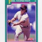 1991 Score Baseball #138 Phil Stephenson - San Diego Padres