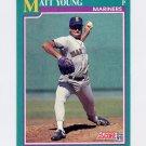 1991 Score Baseball #126 Matt Young - Seattle Mariners