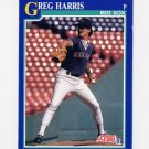 1991 Score Baseball #109 Greg A. Harris - Boston Red Sox