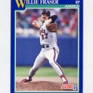 1991 Score Baseball #096 Willie Fraser - California Angels