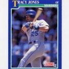1991 Score Baseball #087 Tracy Jones - Seattle Mariners