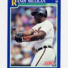 1991 Score Baseball #086 Randy Milligan - Baltimore Orioles