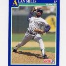 1991 Score Baseball #073 Alan Mills - New York Yankees