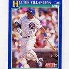 1991 Score Baseball #071 Hector Villanueva - Chicago Cubs