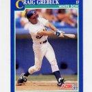 1991 Score Baseball #069 Craig Grebeck - Chicago White Sox