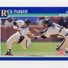 1991 Score Baseball #058 Rick Parker - San Francisco Giants