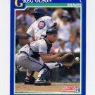 1991 Score Baseball #056 Greg Olson - Atlanta Braves