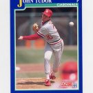 1991 Score Baseball #053 John Tudor - St. Louis Cardinals