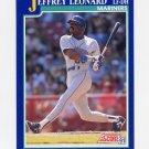 1991 Score Baseball #044 Jeffrey Leonard - Seattle Mariners