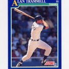 1991 Score Baseball #040 Alan Trammell - Detroit Tigers
