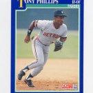 1991 Score Baseball #038 Tony Phillips - Detroit Tigers
