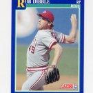 1991 Score Baseball #017 Rob Dibble - Cincinnati Reds