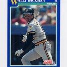 1991 Score Baseball #016 Wally Backman - Pittsburgh Pirates