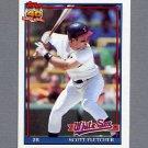 1991 Topps Baseball #785 Scott Fletcher - Chicago White Sox