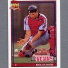 1991 Topps Baseball #783 Joel Skinner - Cleveland Indians