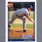 1991 Topps Baseball #770 Jay Howell - Los Angeles Dodgers