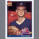 1991 Topps Baseball #753 Paul Marak RC - Atlanta Braves