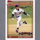 1991 Topps Baseball #705 Robby Thompson - San Francisco Giants ExMt