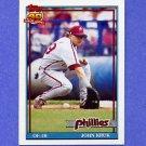 1991 Topps Baseball #689 John Kruk - Philadelphia Phillies