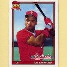 1991 Topps Baseball #682 Ray Lankford - St. Louis Cardinals
