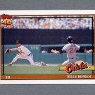 1991 Topps Baseball #677 Billy Ripken - Baltimore Orioles
