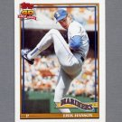 1991 Topps Baseball #655 Erik Hanson - Seattle Mariners NM-M