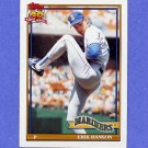 1991 Topps Baseball #655 Erik Hanson - Seattle Mariners ExMt