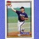 1991 Topps Baseball #647 Mark Portugal - Houston Astros