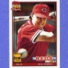 1991 Topps Baseball #642 Hal Morris - Cincinnati Reds