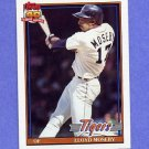 1991 Topps Baseball #632 Lloyd Moseby - Detroit Tigers