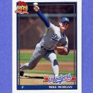 1991 Topps Baseball #631 Mike Morgan - Los Angeles Dodgers