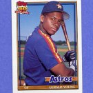 1991 Topps Baseball #626 Gerald Young - Houston Astros
