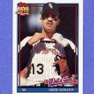 1991 Topps Baseball #620 Ozzie Guillen - Chicago White Sox