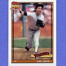 1991 Topps Baseball #613 Eric Show - San Diego Padres ExMt