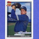 1991 Topps Baseball #611 Dave Eiland - New York Yankees
