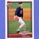 1991 Topps Baseball #578 Dave West - Minnesota Twins