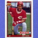 1991 Topps Baseball #550 Eric Davis - Cincinnati Reds