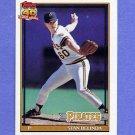 1991 Topps Baseball #522 Stan Belinda - Pittsburgh Pirates