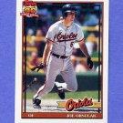 1991 Topps Baseball #521 Joe Orsulak - Baltimore Orioles