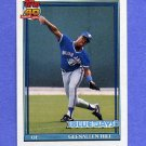 1991 Topps Baseball #509 Glenallen Hill - Toronto Blue Jays
