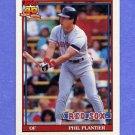 1991 Topps Baseball #474 Phil Plantier RC - Boston Red Sox