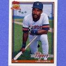 1991 Topps Baseball #469 Chet Lemon - Detroit Tigers
