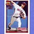 1991 Topps Baseball #466 Charles Nagy - Cleveland Indians