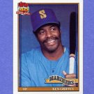 1991 Topps Baseball #465 Ken Griffey Sr. - Seattle Mariners